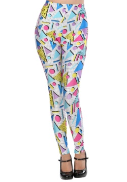 80s Party Girl Adult Leggings