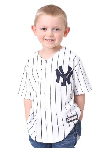 Kids Yankees Home Replica Blank Back Jersey