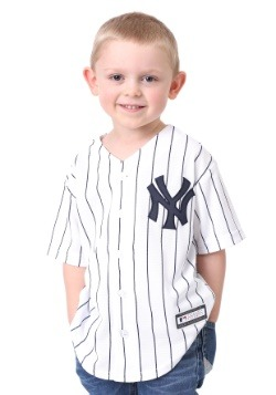 Kids Yankees Home Replica Blank Back Jersey