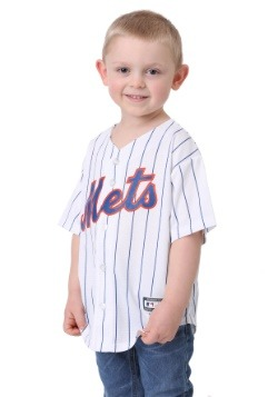New York Mets Home Replica Blank Back Child Jersey