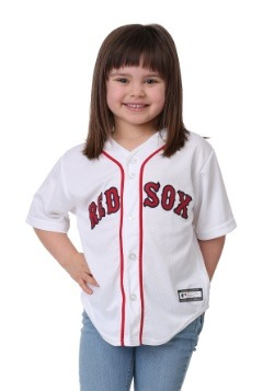 Kids Red Sox Home Replica Blank Back Jersey