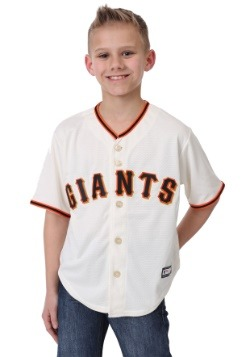 Giants Home Replica Blank Back Child Jersey