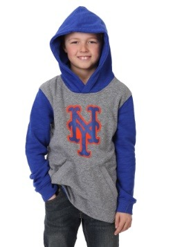 Mets New Beginnings Pullover Hooded Youth Sweatshirt 2