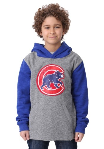 Cubs New Beginnings Pullover Hooded Sweatshirt for Kids
