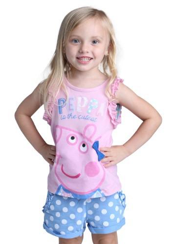 Peppa Pig Toddler Tank and Shorts Set