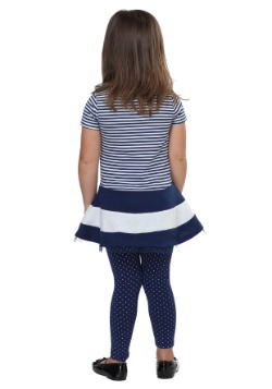 Peppa Pig Stripes and Polka Dots Tutu Shirt and Leggings