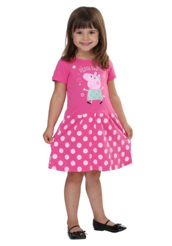 Peppa Pig Polka Dot Party Short Sleeve Dress
