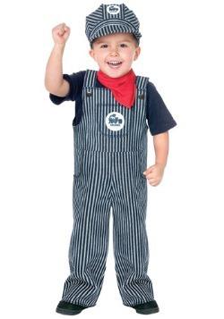 Train Engineer Toddler Costume