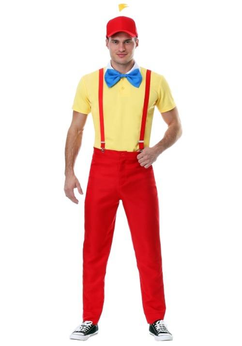 Plus Size Adult Dapper Tweedle Dee/Dum Costume