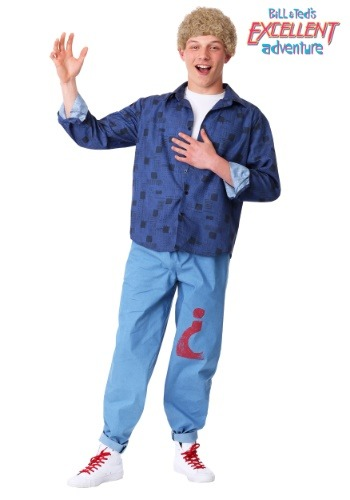 Adult Bill & Ted's Excellent Adventure Bill Costume1