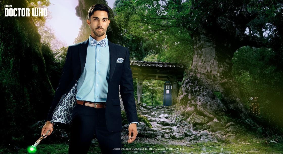 Doctor Who Tardis Subtle Suit Jacket