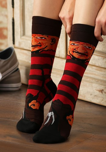 Nightmare on Elm Street Freddy Krueger Sublimated Socks