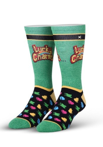 Lucky Charms Marshmallows Knit Odd Sox