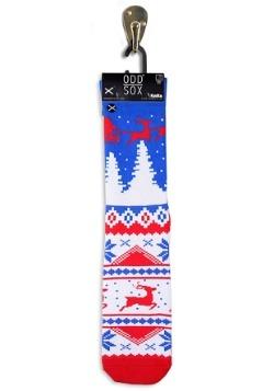 Winter Ugly Sweater Knit Odd Sox
