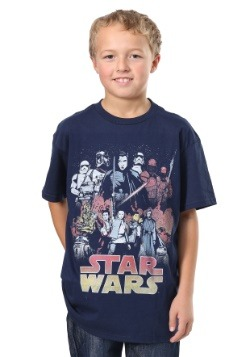 Star Wars The Last Jedi Divine Journey Boys T-Shirt