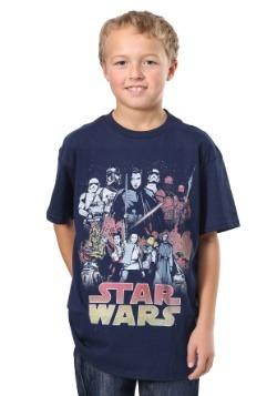 Star Wars The Last Jedi Divine Journey Boys T-Shirt