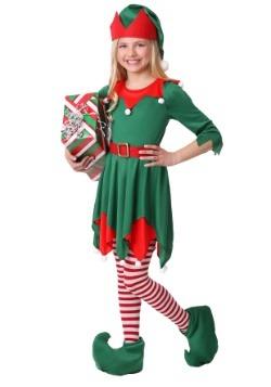 Girl's Santa's Helper Costume