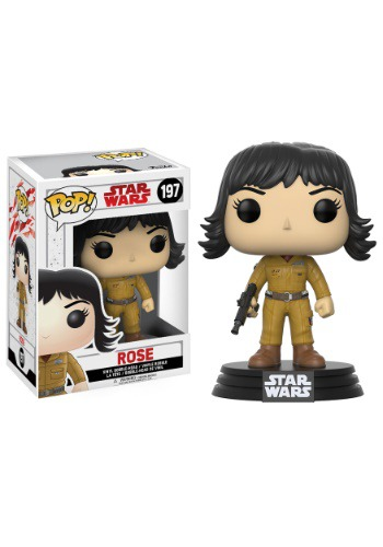 Star Wars The Last Jedi Rose Funko Pop Vinyl