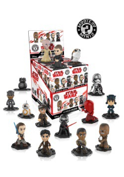 Star Wars The Last Jedi Mystery Minis
