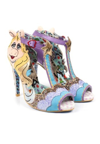 Irregular Choice Muppets Original Diva Miss Piggy Heels