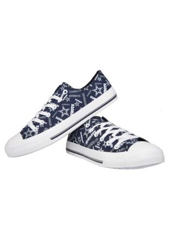 Dallas Cowboys Low Top Women's Canvas Shoes