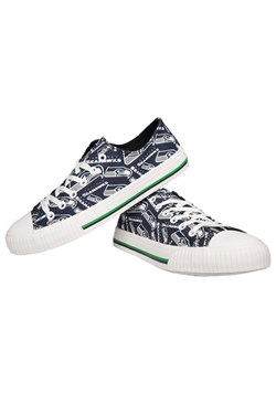 Seattle Seahawks Low Top Women's Canvas Shoes