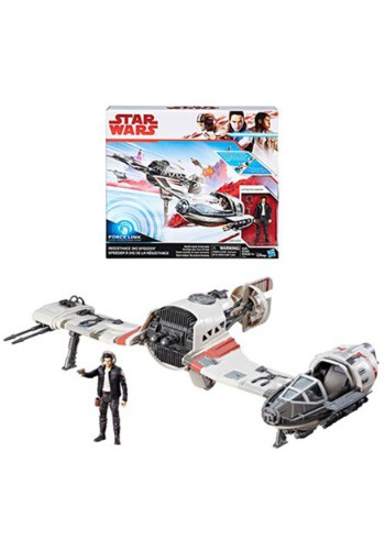 Star Wars: The Last Jedi Resistance Ski Speeder Vehicle
