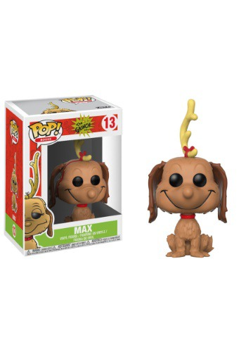 Pop! Books: The Grinch- Max the Dog