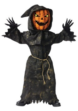 Kids Scary Eyed Pumpkin Costume