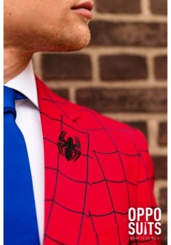 Men's OppoSuits Spider-Man Suit Lapel
