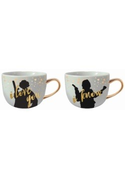 Star Wars I Love You Han & Leia Mug 2 Pack