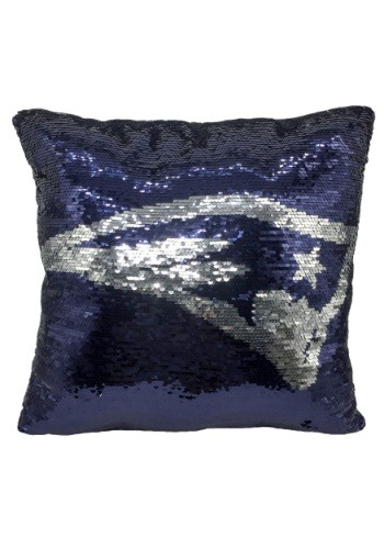 New England Patriots Team Logo Sequin Pillow