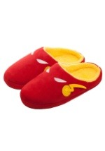 The Flash Red Scuff Mens Slippers