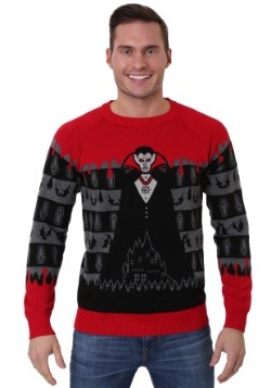 Adult Dracula Vampire Ugly Halloween Sweater