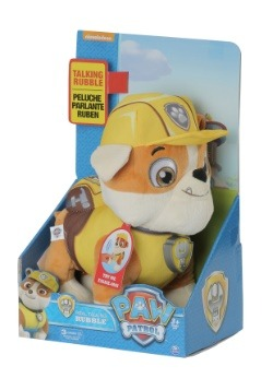 Paw Patrol Rubble Talking Plush