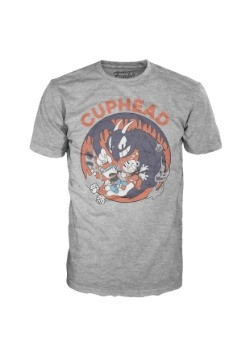 Pop! Tees: Cuphead Mugman Devil Adult T-Shirt