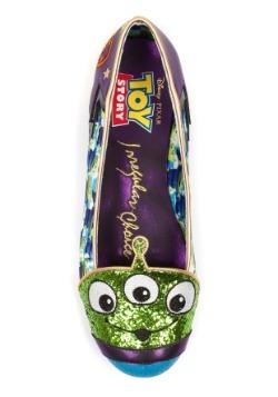 Irregular Choice Toy Story Eternally Grateful Alien Flats2