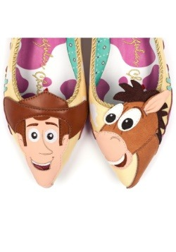 Toy Story Round Up Gang Woody and Bullseye Flats5