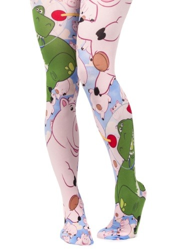 Irregular Choice Toy Story Hamm and Rex Tights