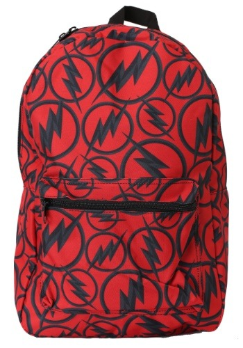 The Flash Dark Logo All Over Print Backpack
