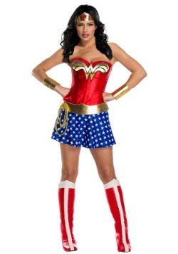 Classic Premium Wonder Woman Costume for Women