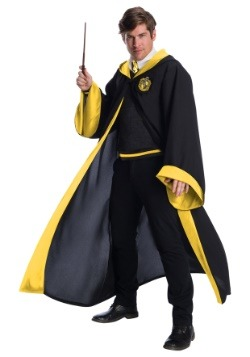 Adult Deluxe Hufflepuff Student Costume