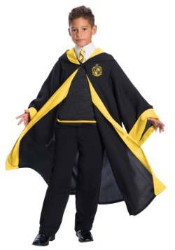 Child Deluxe Hufflepuff Student Costume