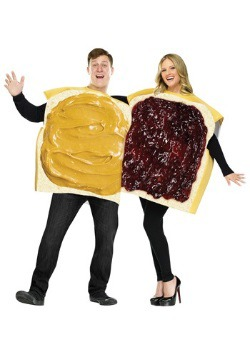 Adult Peanut Butter and Jelly Costume For Adult Couple