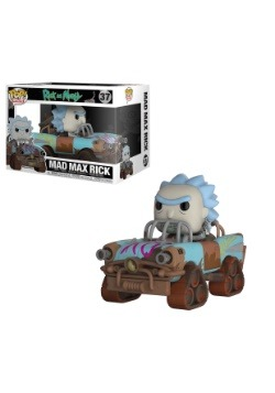 Pop! Rides: Rick and Morty Mad Max Rick