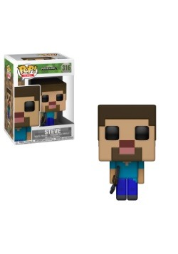 Pop! Games: Minecraft Steve Vinyl Figure