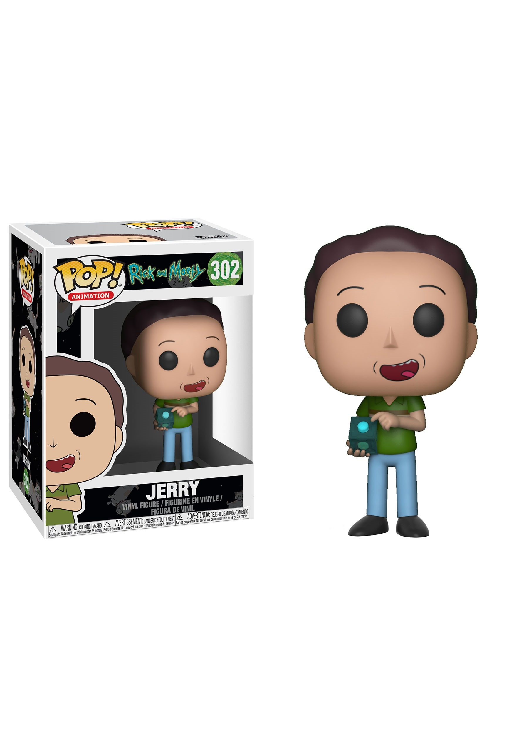 Jerry - Pop! Rick and Morty Vinyl Figure