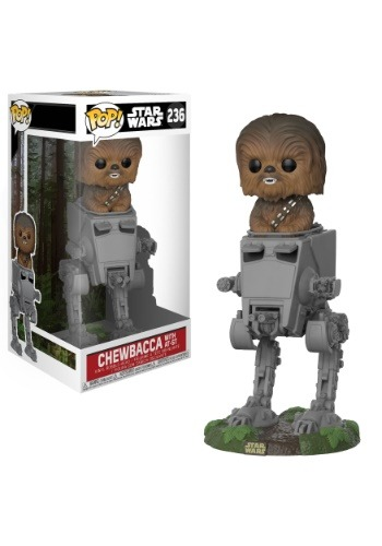 Pop! Deluxe: Star Wars Chewbacca in AT-ST