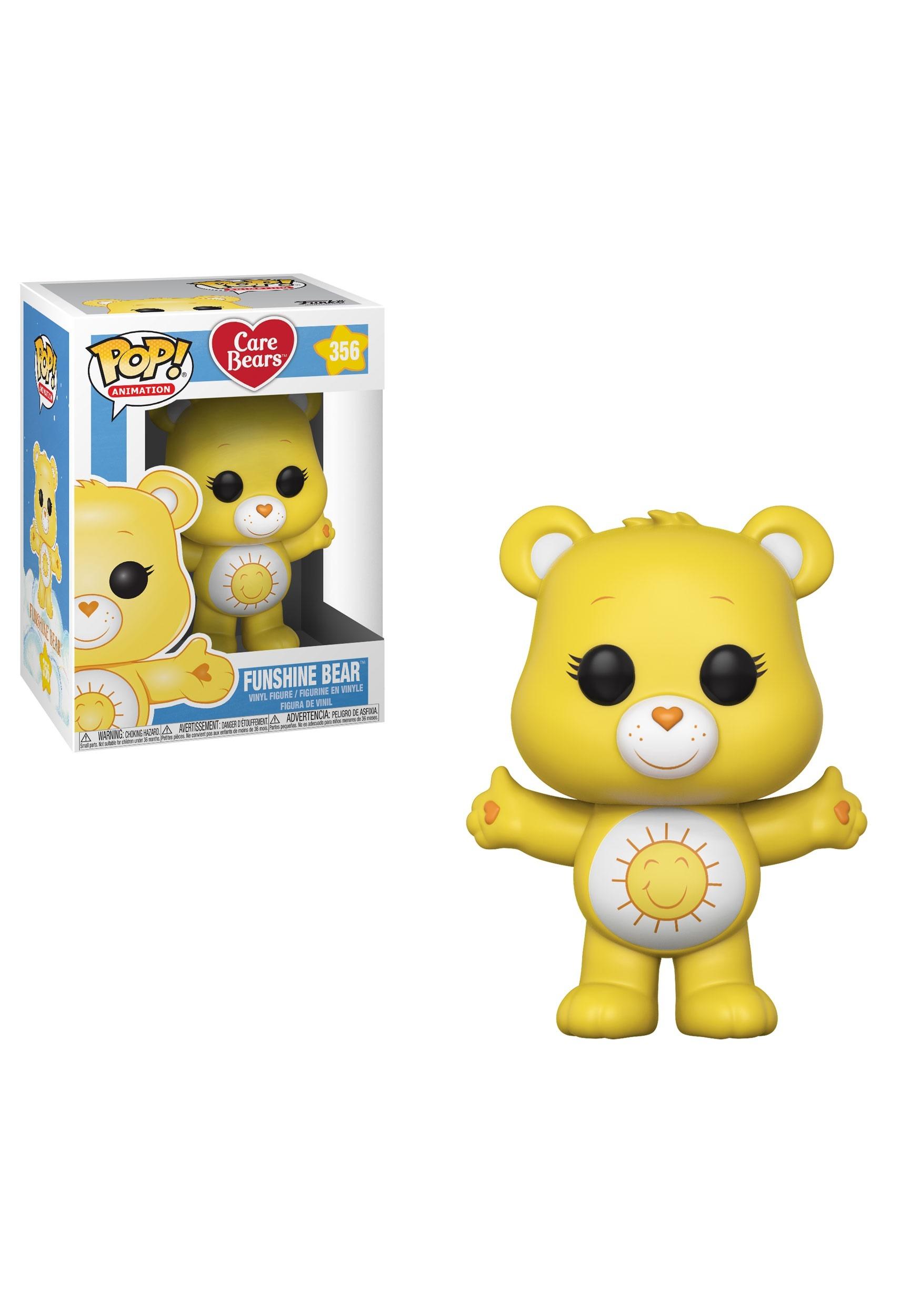 POP! Animation: Care Bears- Funshine Bear