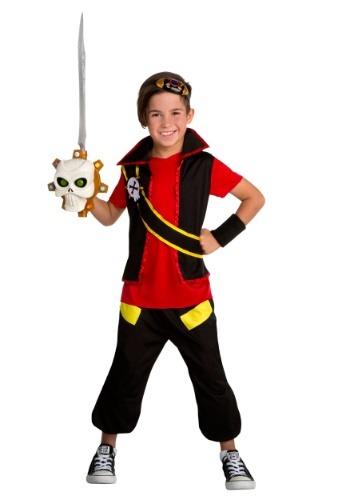 Boy's Zak Storm Zak Costume